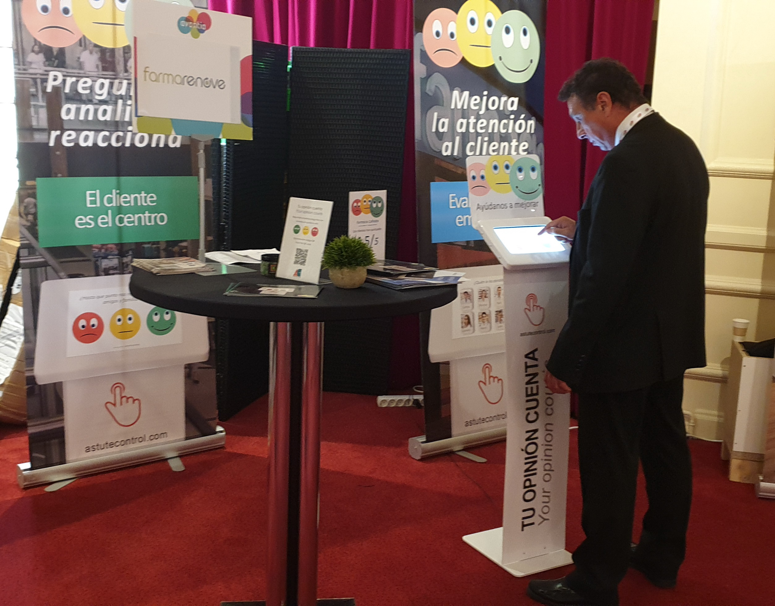 Encuestas de satisfacción Astutecontrol con Farmarenove en París