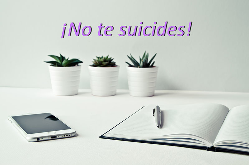 No te suicides